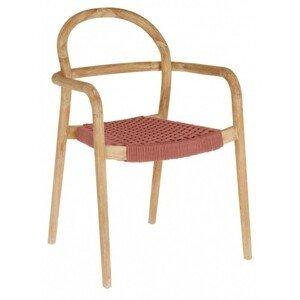 Hector Zahradní židle Sheryl dřevo/zelená