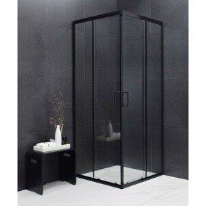 Sprchový kout Mexen Rio 90x90 cm  cm černý