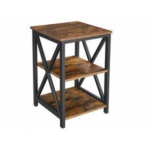 Rongomic Noční stolek VASAGLE Francesca hnědý