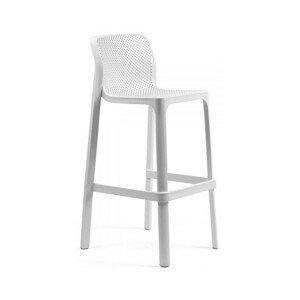 Hector Zahradní barová židle Nardi Net I bílá