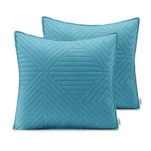 Povlaky na polštáře AmeliaHome Softa světle modré/stříbrné