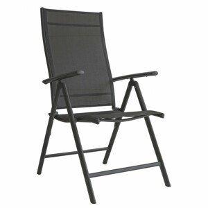 MODERNHOME Zahradní židle RICHARD černá