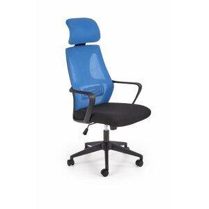 Halmar Kancelářská židle Dedo modrá/černá