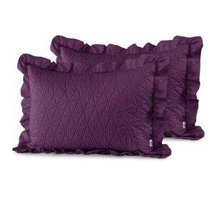 Povlaky na polštáře AmeliaHome Tilia fialové