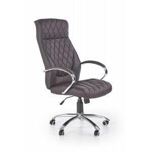 Halmar Kancelářská židle Hilo čokoládová