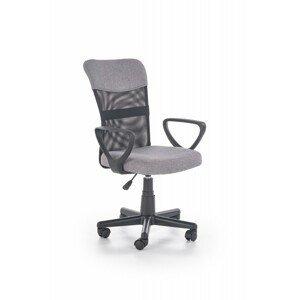 Halmar Studentská židle Timo šedá