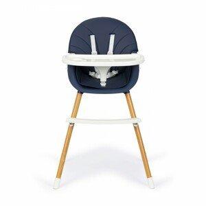 Jídelní židlička 2v1 Ecotoys modrá