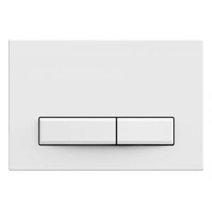 WC tlačítko k nádržce MEXEN FENIX 09 lesklá bílá