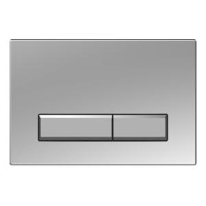 WC tlačítko k nádržce MEXEN FENIX 09 matný chrom