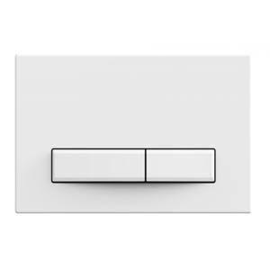 WC tlačítko k nádržce MEXEN FENIX 09 matná bílá