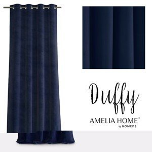 Závěs AmeliaHome Duffy tmavě modrý