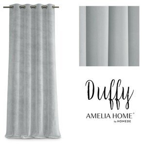 Závěs AmeliaHome Duffy stříbrný