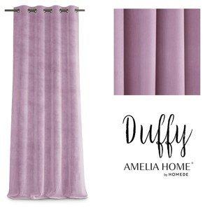 Závěs AmeliaHome Duffy pudrově růžový