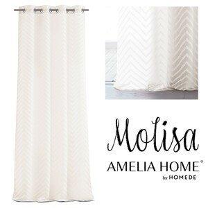 Záclona AmeliaHome Molisa II krémová