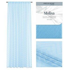 Záclona AmeliaHome Molisa III světle modrá