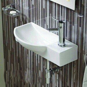 Keramické umyvadlo klasické MEXEN HUGO L 50x24 cm bílé