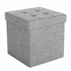 Rongomic Taburet Hinessa šedý