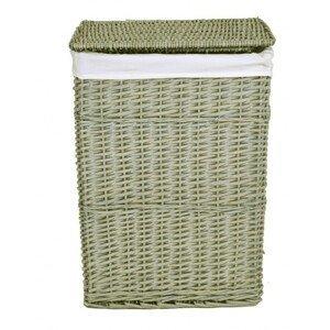 TZB Proutěný koš na prádlo  - šedý  72 L