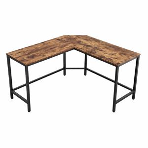 Rongomic Rohový psací stůl VASAGLE ZEO