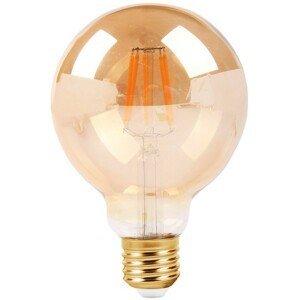 DekorStyle Žárovka LED- dekorativní kulatá