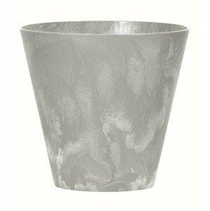 PlasticFuture Květináč Tubus Easy šedý