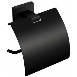 MEXEN Stojan na toaletní papír černý