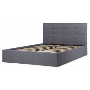 Hector Čalouněná postel Calabria 160x200 dvoulůžko - šedé