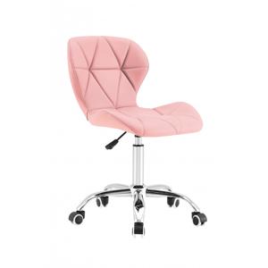 Tutumi Židle otočná LUKA růžová