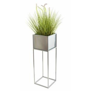 DekorStyle Květinový stojan GLORIA 70 cm chrom