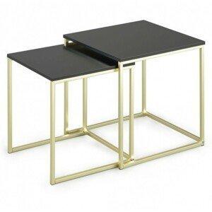 Hector Sada konferenčních stolků Buno černé/zlaté