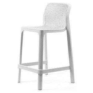Hector Zahradní barová židle Nardi Net Mini bílá
