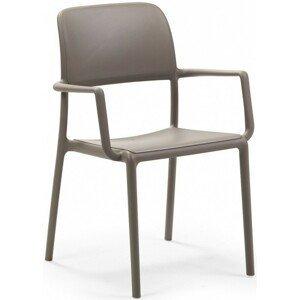 Hector Zahradní židle Nardi Riva světle hnědá