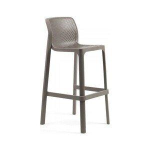 Hector Zahradní barová židle Nardi Net I světlé hnědá