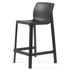 Hector Zahradní barová židle Nardi Net Mini antracit