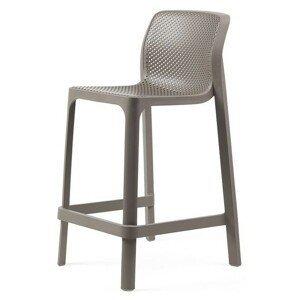 Hector Zahradní barová židle Nardi Net Mini světle hnědá