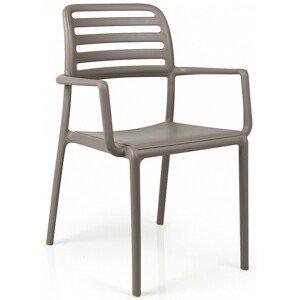 Hector Zahradní židle Nardi Costa světlé hnědá