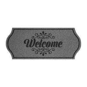Rohožka Welcome šedá
