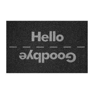 Rohožka Hello/Goodbye černá