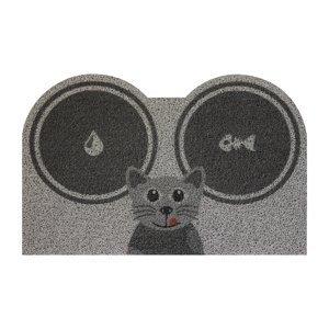Rohožka/podložka na krmení Kočka šedá