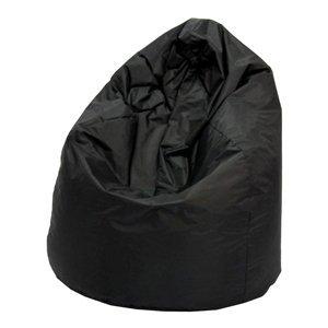 Sedací vak JUMBO černý s náplní