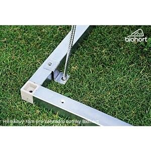 Hliníkový podlahový rám pro zahradní domky Avantgarde 252x252x4 cm
