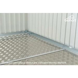 Hliníková podlahová deska pro zahradní domky Avantgarde 243,5x243,5 cm