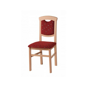 Židle typu 871 ekokůže 1011 - bílá