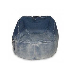 Sedací vak Jeans Chair blue