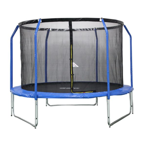 GoodJump 3UPVC modrá trampolína 305 cm s ochrannou sítí + žebřík - Inside