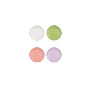 BANQUET Talíř plastový kulatý dezertní CANDY 20 cm, mix barev