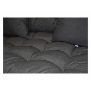 Sada polstrů na paletový nábytek - tmavě šedý MELÍR