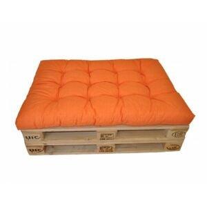 Polstr na paletu 120x80 cm - oranžový melír