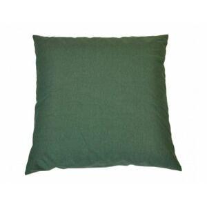 Polštář 50x50 cm na paletové sezení - tmavě zelený melír
