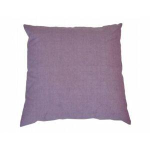 Polštář 50x50 cm na paletové sezení - fialový melír